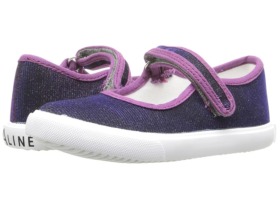 Amiana 6-A0838 (Toddler/Little Kid/Big Kid) (Violet Irridescent Shimmer) Girls Shoes