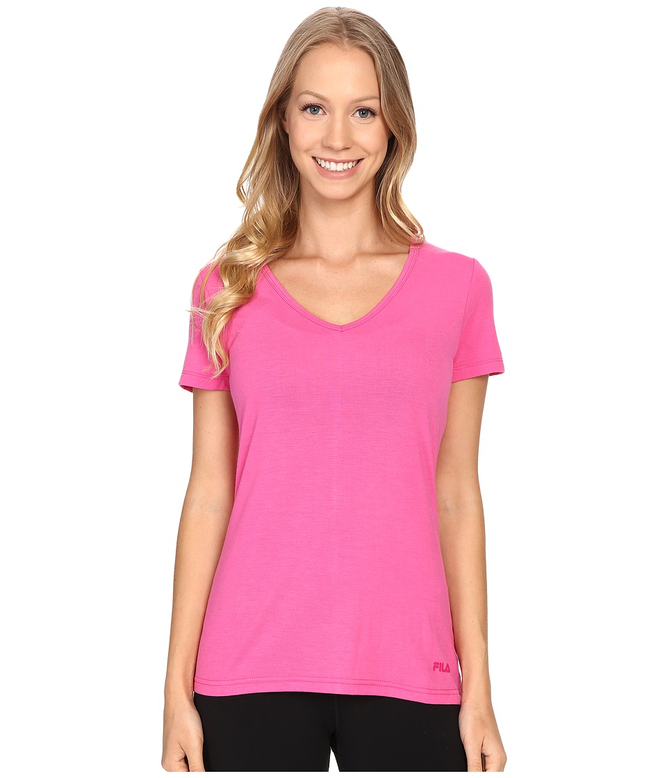 Fila - Lock and Key Tee (Pinky Daze) Women's T Shirt