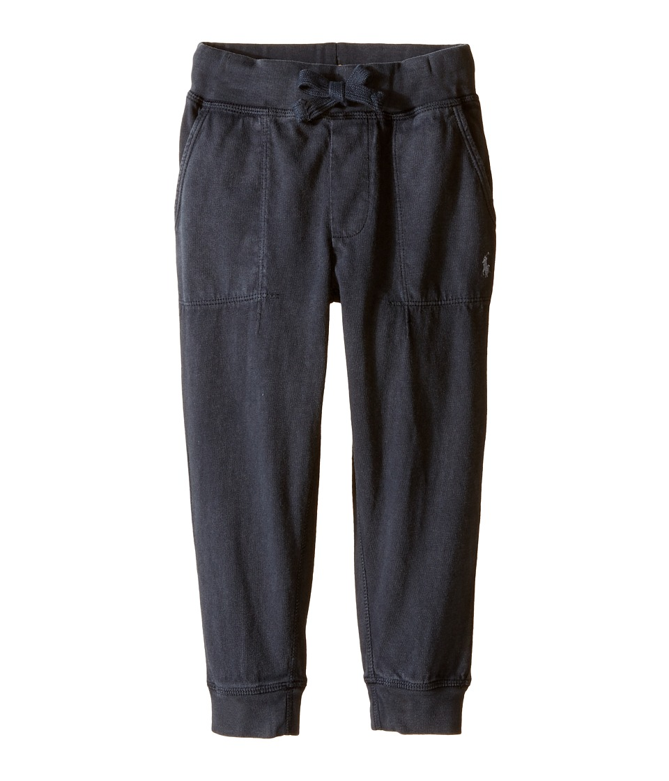 Polo Ralph Lauren Kids - Jersey Pull-On Pants (Toddler) (Soft Charcoal) Boy's Casual Pants