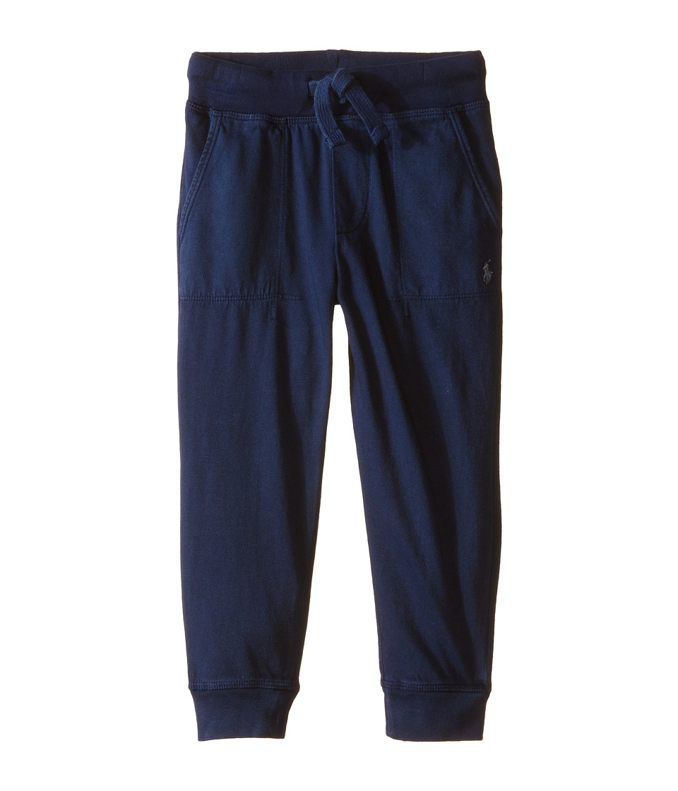 Polo Ralph Lauren Kids - Jersey Pull-On Pants (Toddler) (Spring Navy) Boy's Casual Pants