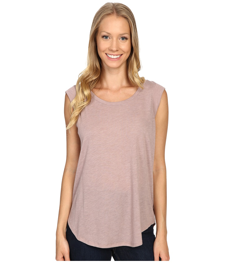 B Collection by Bobeau - Iris Muscle T-Shirt (Mauve) Women's Short Sleeve Pullover