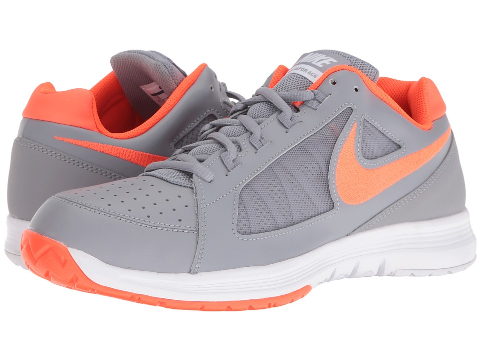 Nike - Air Vapor Ace (Stealth/Total Crimson-White-Black) Men's Tennis Shoes
