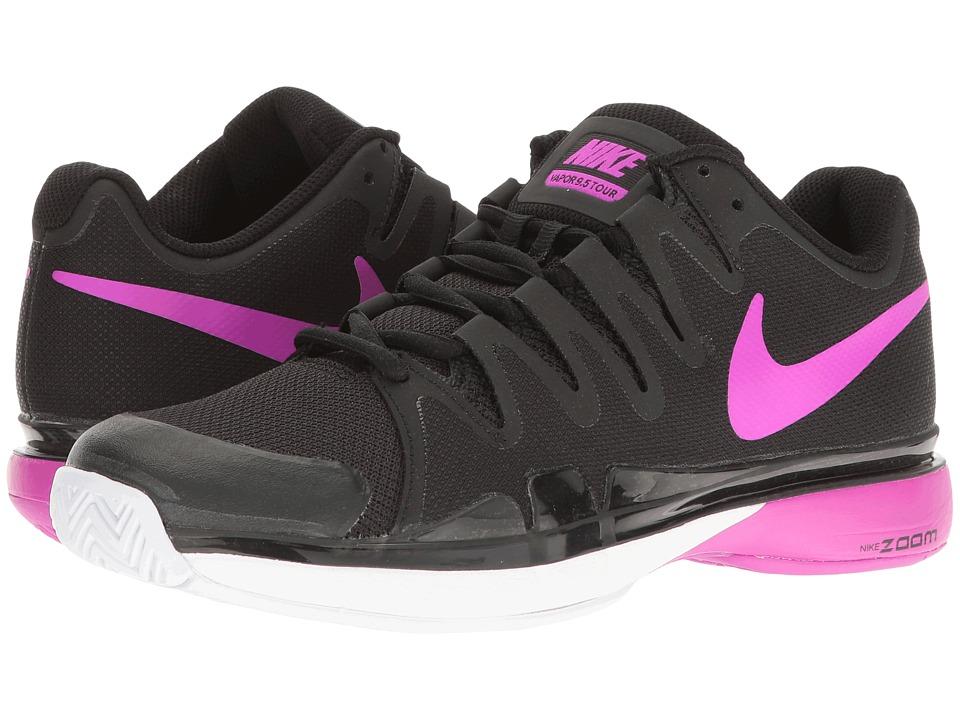 Nike - Zoom Vapor 9.5 Tour (Black/Hyper Violet-White) Women's Tennis Shoes