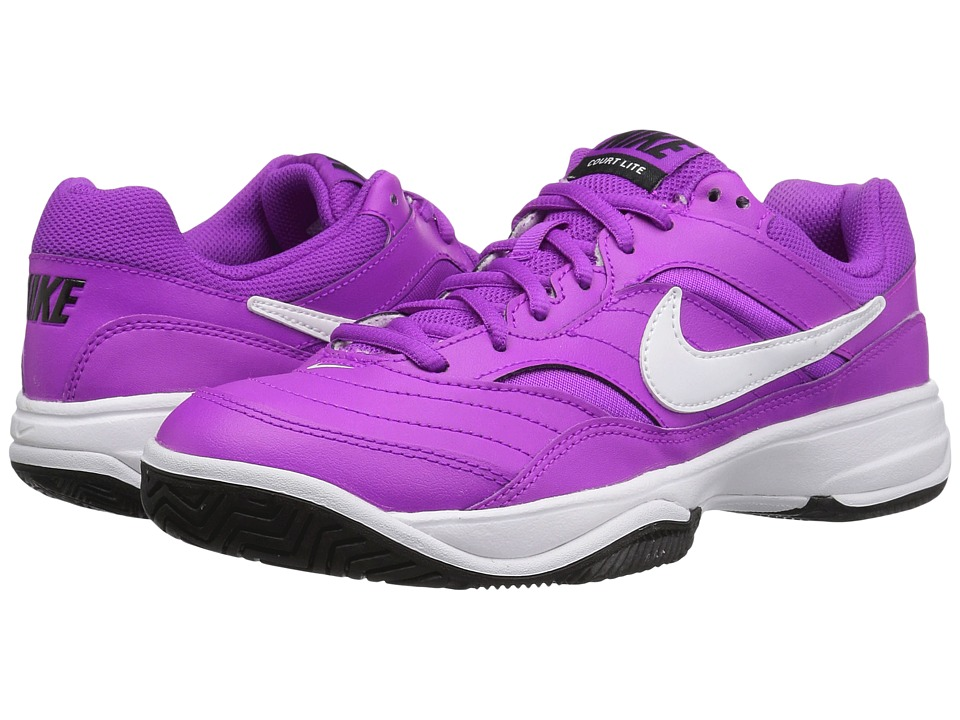 Nike - Court Lite (Hyper Violet/White-Black) Women's Tennis Shoes