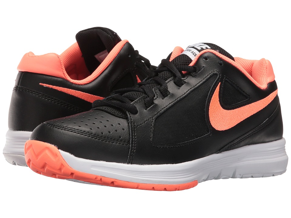 Nike - Air Vapor Ace (Black/Bright Mango-White) Women's Tennis Shoes