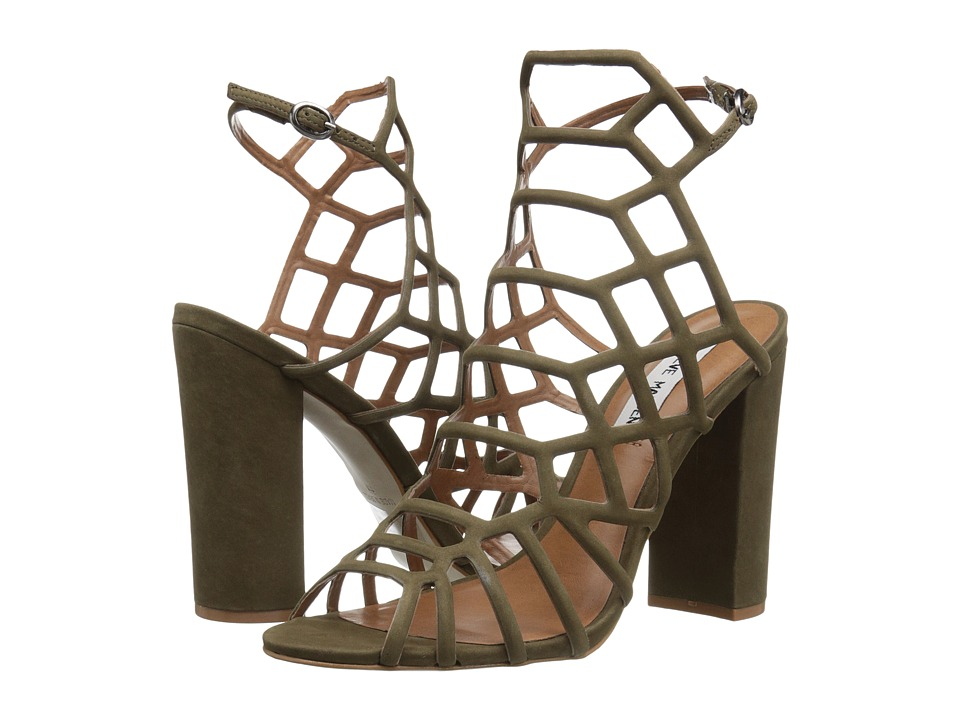 Steve Madden - Skales (Olive Nubuck) High Heels