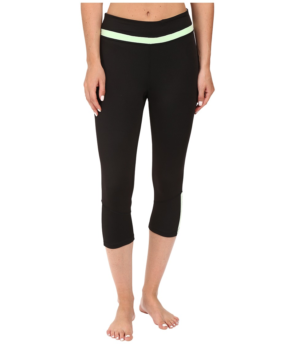 Fila - Blast Tight Capris (Balck/Apple Chew) Women's Capri