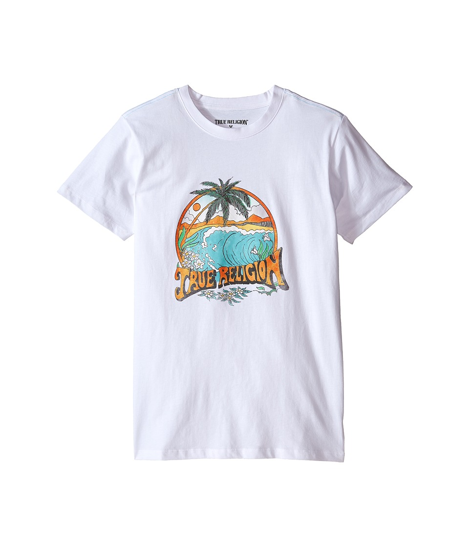 True Religion Kids - Surfer Graphic Tee (Big Kids) (White) Boy's T Shirt
