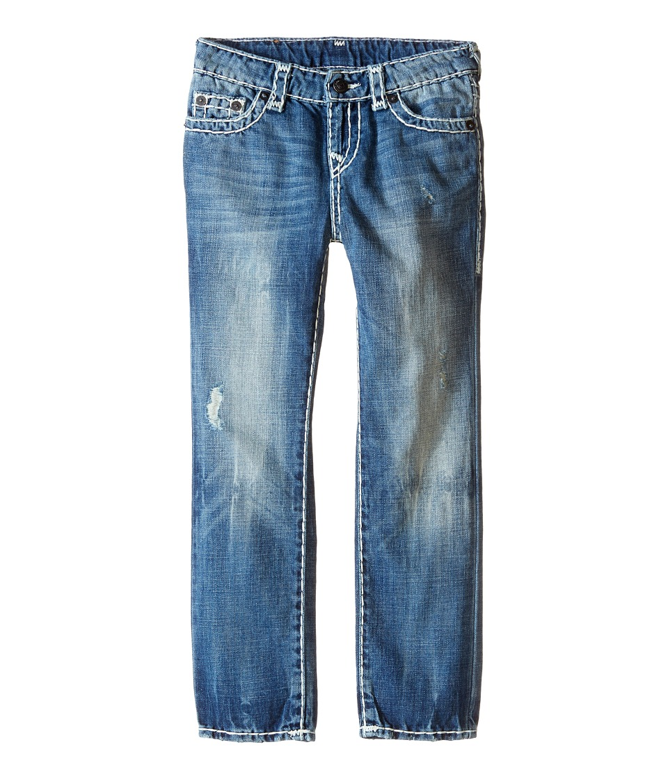True Religion Kids - Geno Super T Jeans in Rhythm Blue (Toddler/Little Kids) (Rhythm Blue) Boy's Jeans