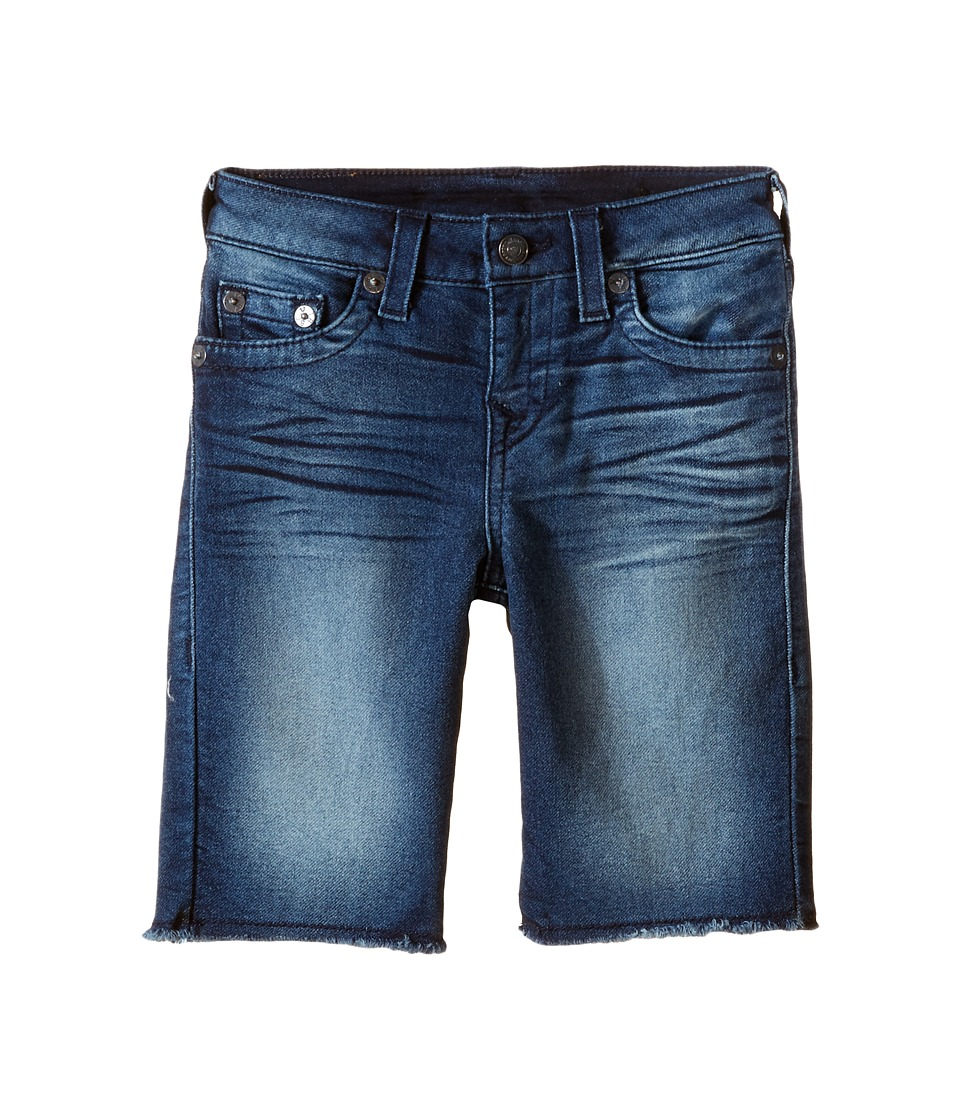 True Religion Kids - French Terry Geno Shorts (Toddler/Little Kids) (Rusty River) Boy's Shorts