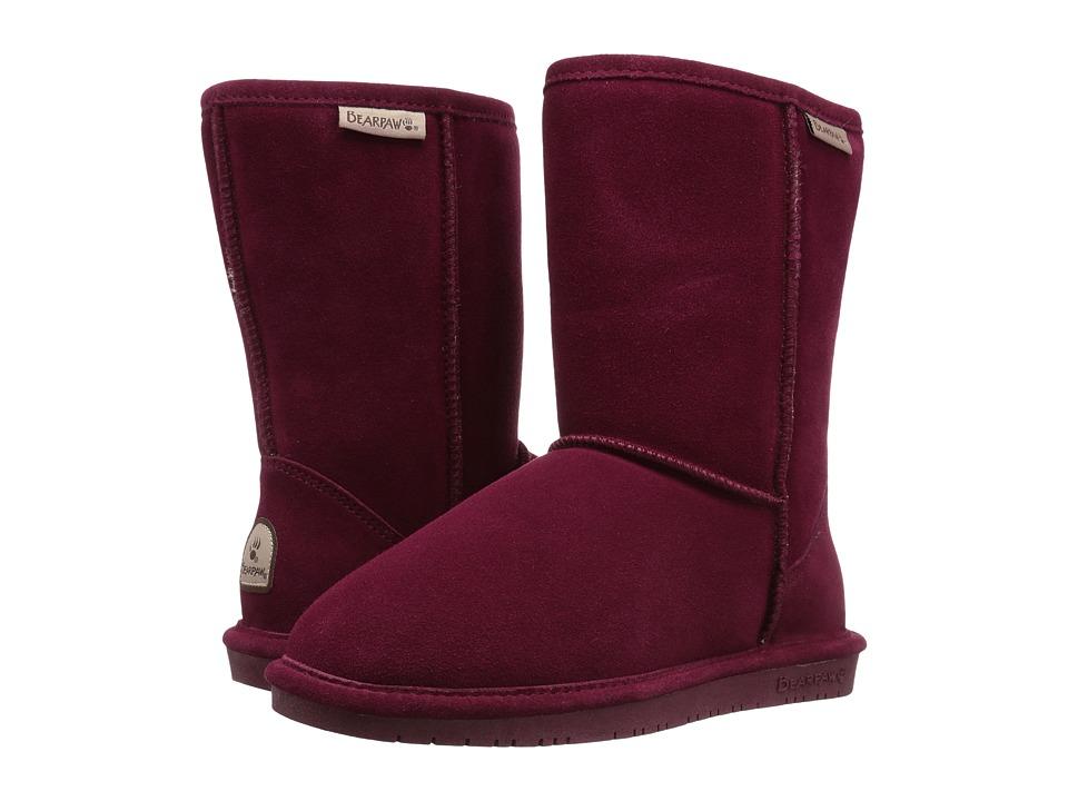 Bearpaw - Emma Short (Bordeaux) Women's Pull-on Boots