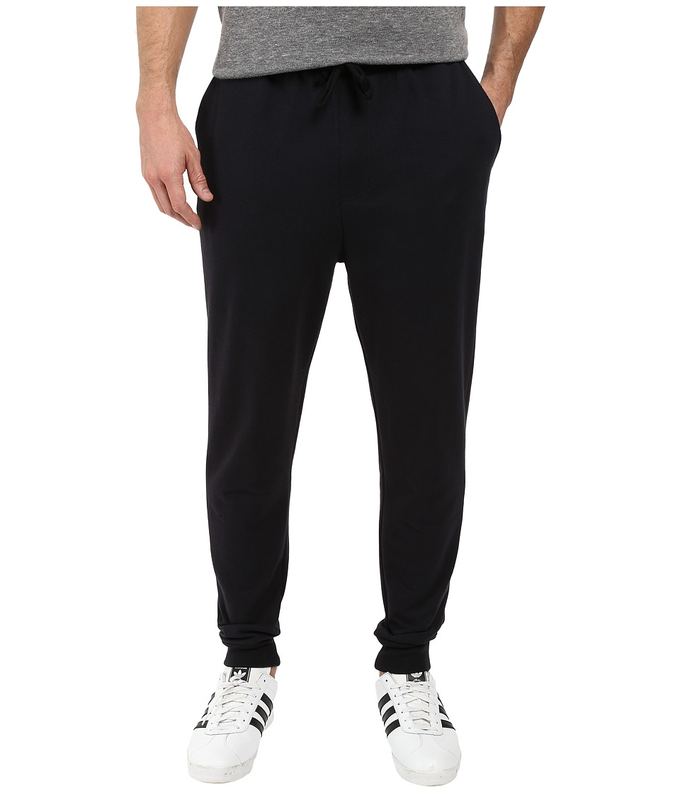 Alternative - Heavyweight French Terry Heavy Hitter Pants (Black) Men's Casual Pants