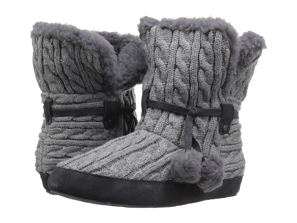 Bearpaw Trista (Charcoal Knit) Women