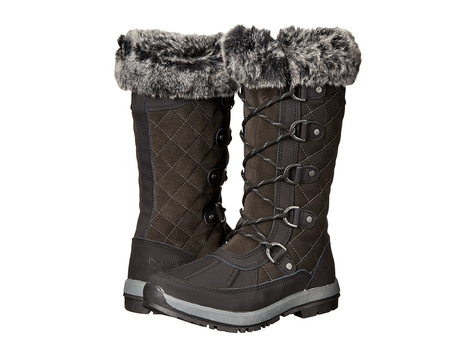 Bearpaw - Gwyneth (Black/Grey) Women's Shoes