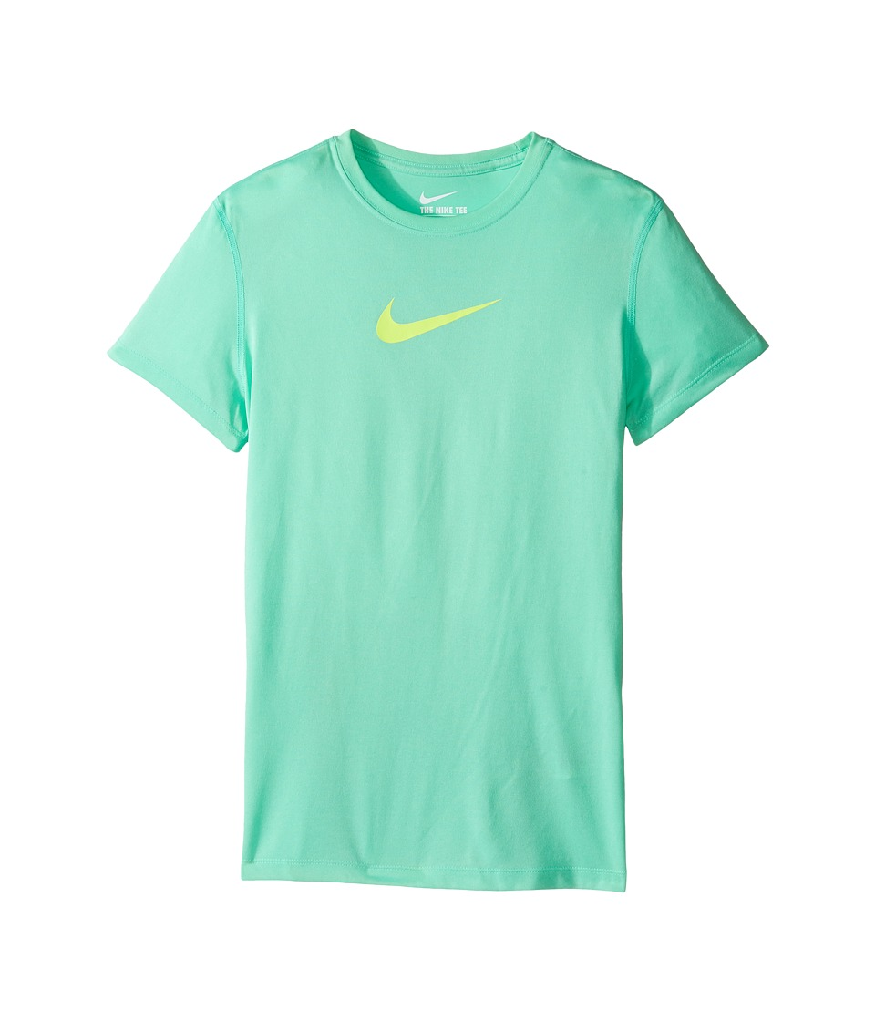 Nike Kids - Legend S/S Top (Little Kids/Big Kids) (Green Glow/Volt) Girl's T Shirt