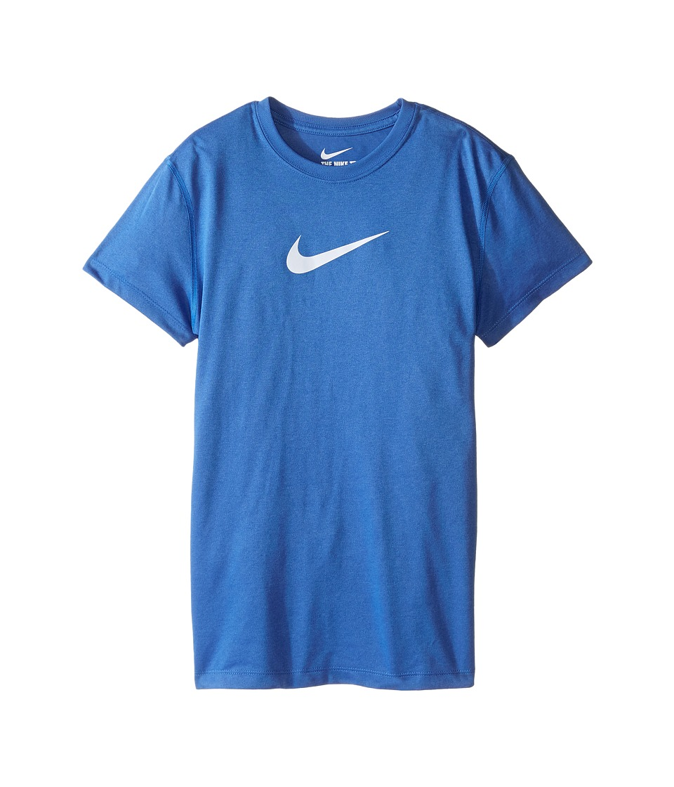 Nike Kids - Legend S/S Top (Little Kids/Big Kids) (Star Blue/Blue Tint) Girl's T Shirt