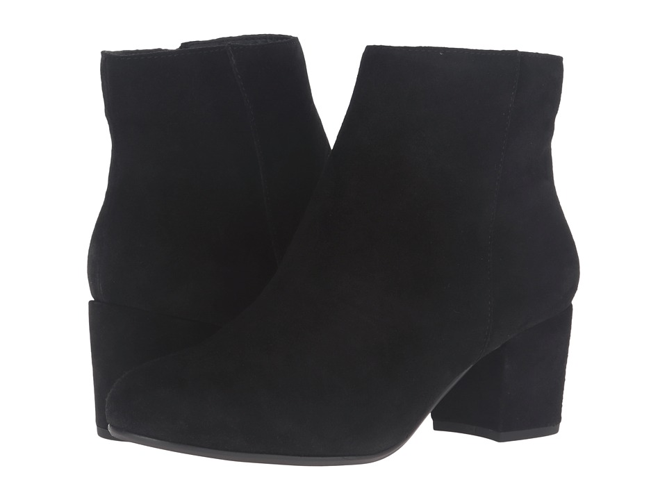 Steve Madden - Holster (Black Suede) Women's Pull-on Boots