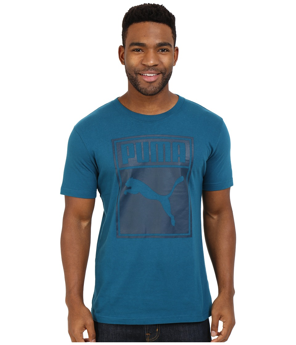 PUMA - Mono Tee 1 (Blue Coral) Men's T Shirt