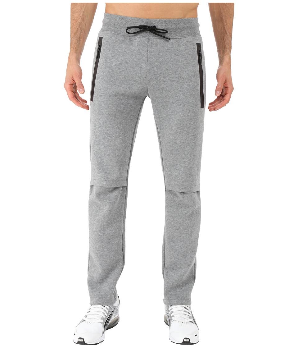 PUMA - Evo LV Sweatpants (Medium Gray Heather) Men's Casual Pants