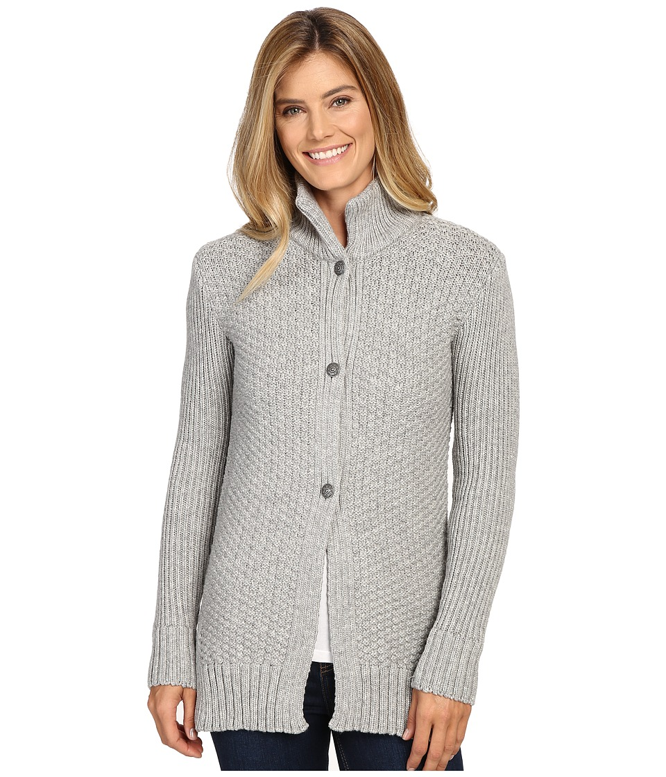 Dale of Norway - Gudrun Jacket (Light Charcoal) Women's Coat
