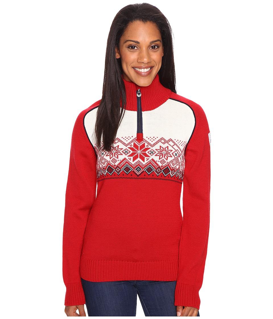 Dale of Norway - Frostisen Sweater (Raspberry/Navy) Women's Sweater