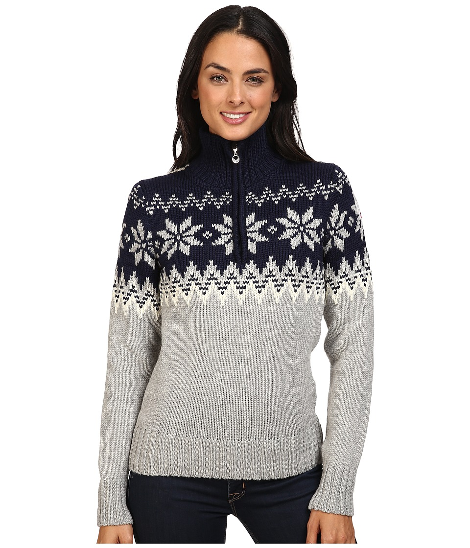 Dale of Norway - Myking Sweater (Navy/Off-White) Women's Sweater