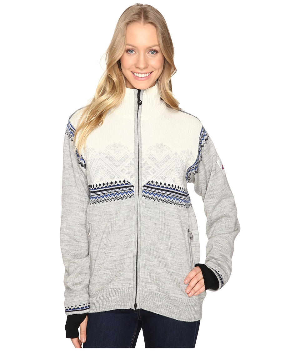 Dale of Norway - Glittertind Jacket (Grey/Off-White) Women's Coat