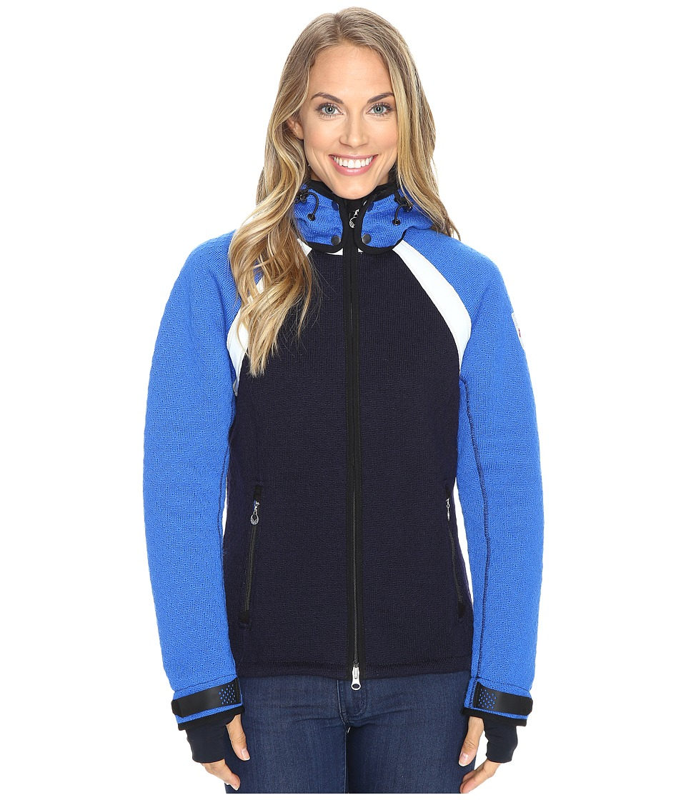Dale of Norway - Jotunheimen Jacket (Navy/Cobalt) Women's Coat