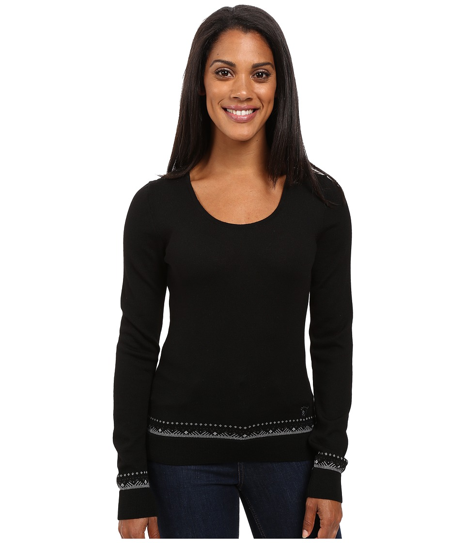 Dale of Norway - Mette Sweater (Black/Dark Grey) Women's Sweater