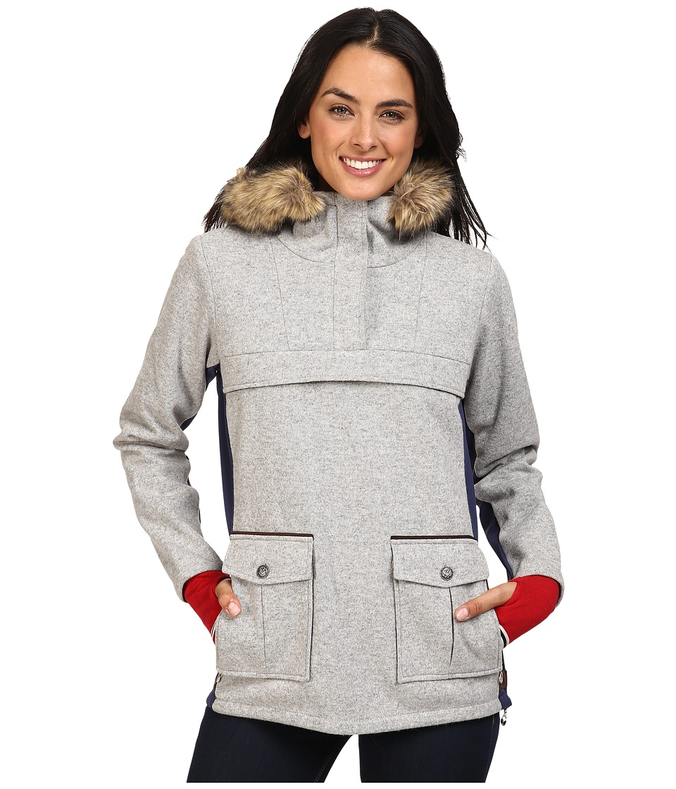 Dale of Norway - Fjellanorakk Jacket (Light Grey) Women's Coat