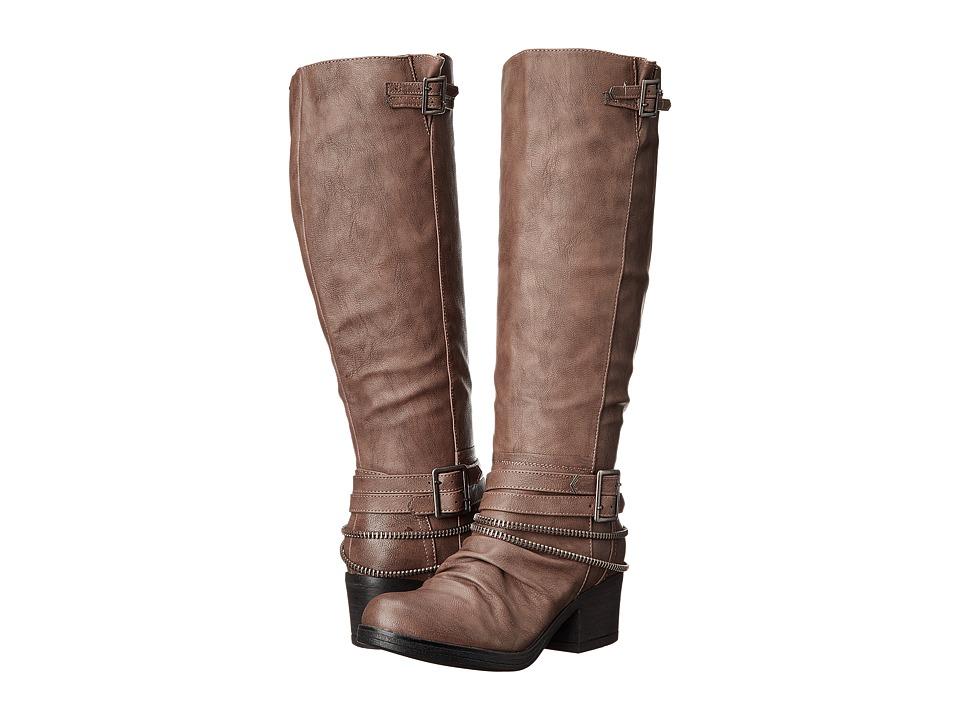 CARLOS by Carlos Santana Candace WideCalf Grey Womens Boots
