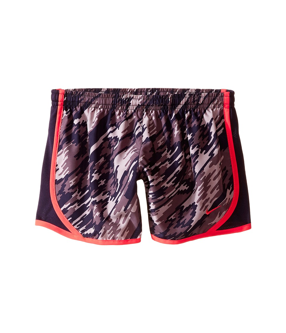 Nike Kids - Dry Tempo Running Short AOP2 (Little Kid/Big Kid) (Purple Dynasty/Purple Dynasty/Ember Glow) Girl's Shorts