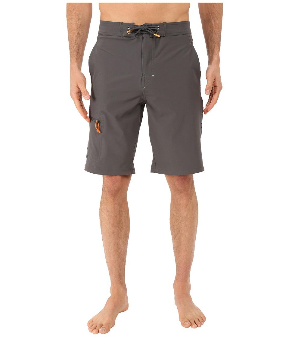 Rainforest - Wayne Boardshorts in Stretch Oxford (Grey) Men's Swimwear