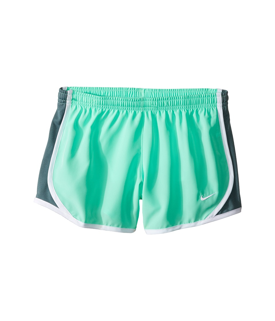 Nike Kids - Tempo Short (Little Kids/Big Kids) (Green Glow/Hasta/White/White) Girl's Shorts