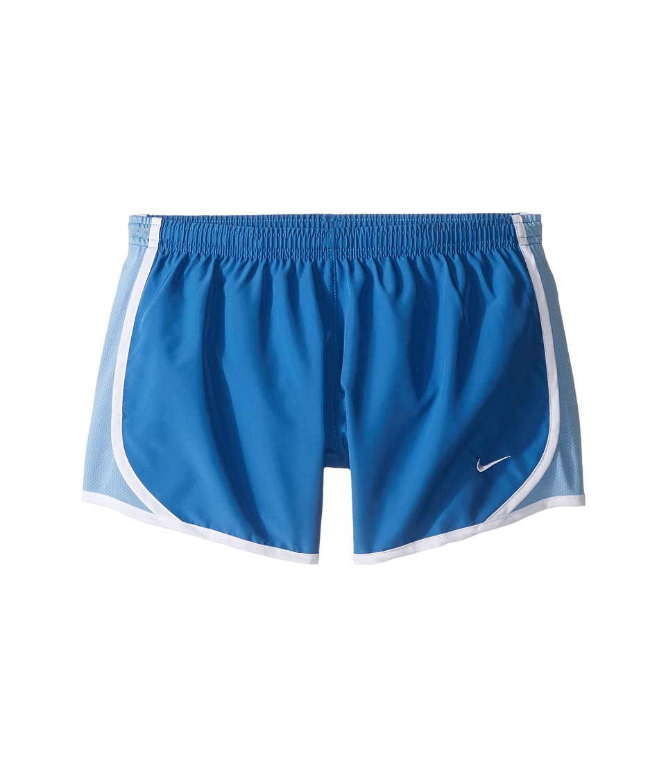 Nike Kids - Tempo Short (Little Kids/Big Kids) (Star Blue/Light Blue/White/White) Girl's Shorts
