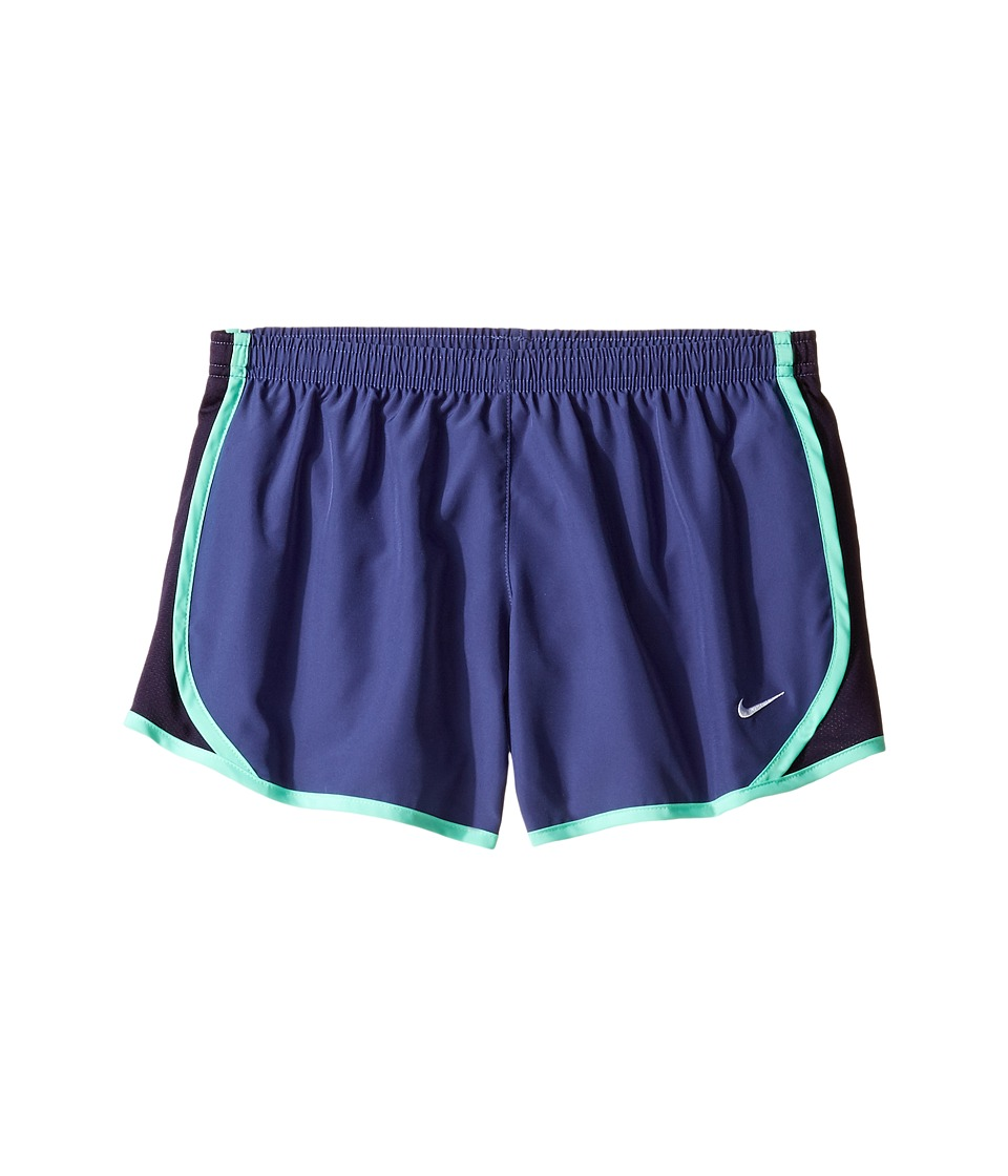 Nike Kids - Tempo Short (Little Kids/Big Kids) (Dark Purple Dust/Purple Dynasty/White) Girl's Shorts