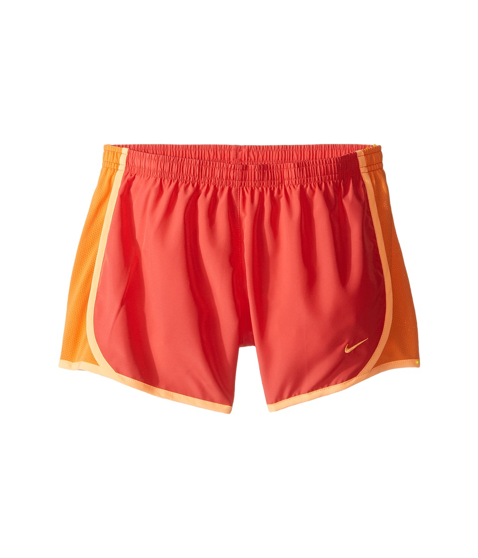 Nike Kids - Tempo Short (Little Kids/Big Kids) (Ember Glow/Bright Mandarin/Peach Cream) Girl's Shorts