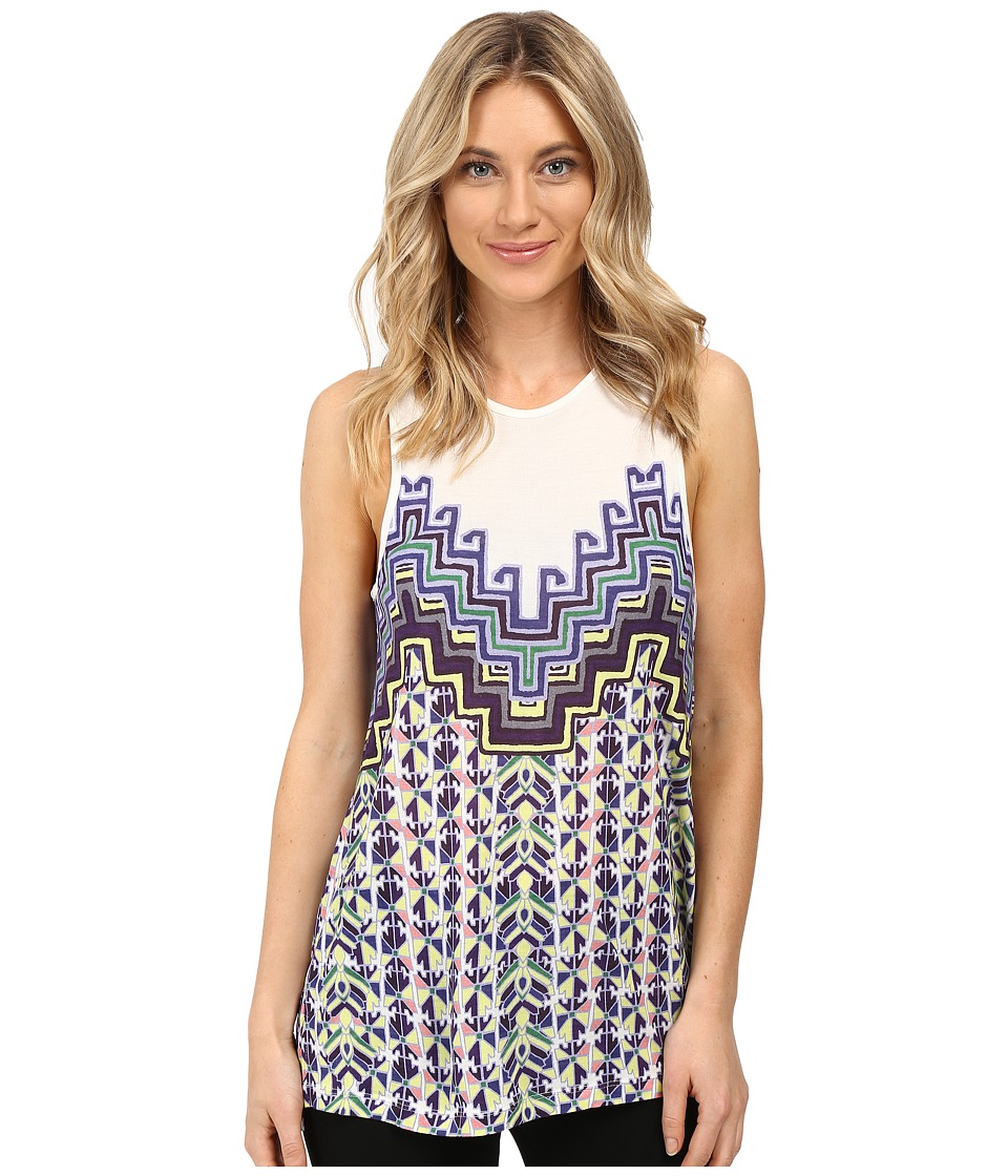 Mara Hoffman - Rugs Tank Top (Purple Multi) Women's Sleeveless