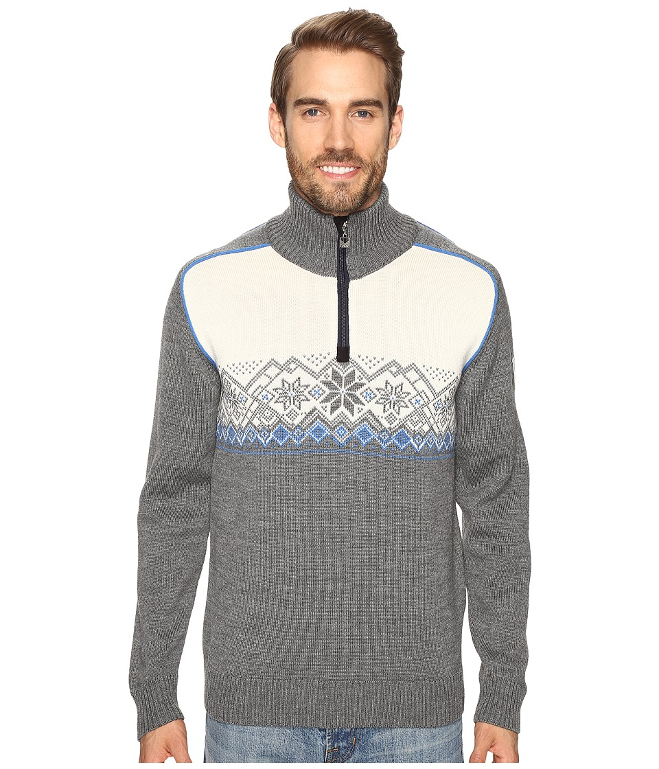 Dale of Norway - Frostisen Sweater (Smoke/Cobalt) Men's Sweater