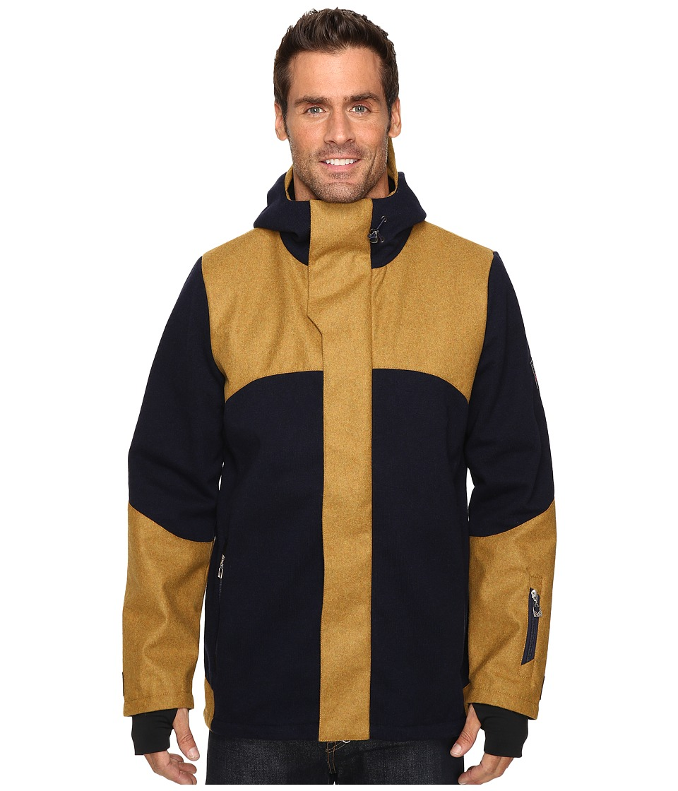 Dale of Norway - Stryn Jacket (Navy/Mustard) Men's Coat