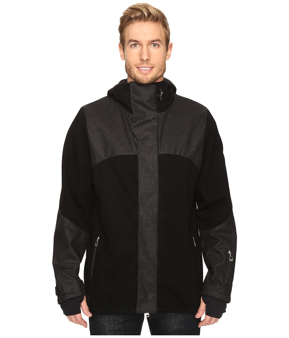 Dale of Norway - Stryn Jacket (Black/Dark Charcoal) Men's Coat
