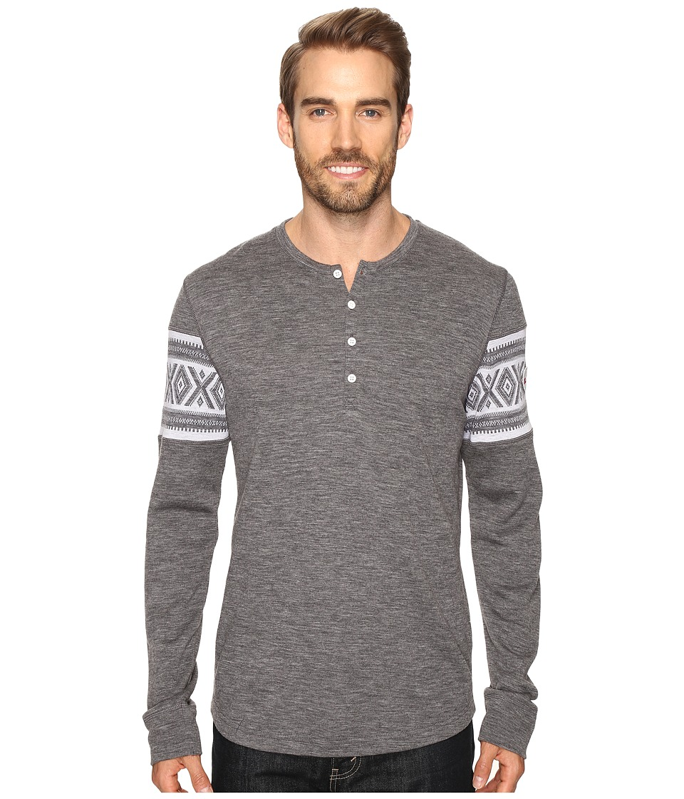 Dale of Norway - Bykle Sweater (Smoke/White) Men's Sweater
