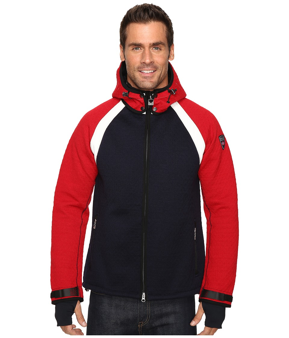 Dale of Norway - Jotunheimen Jacket (Navy/Raspberry) Men's Coat
