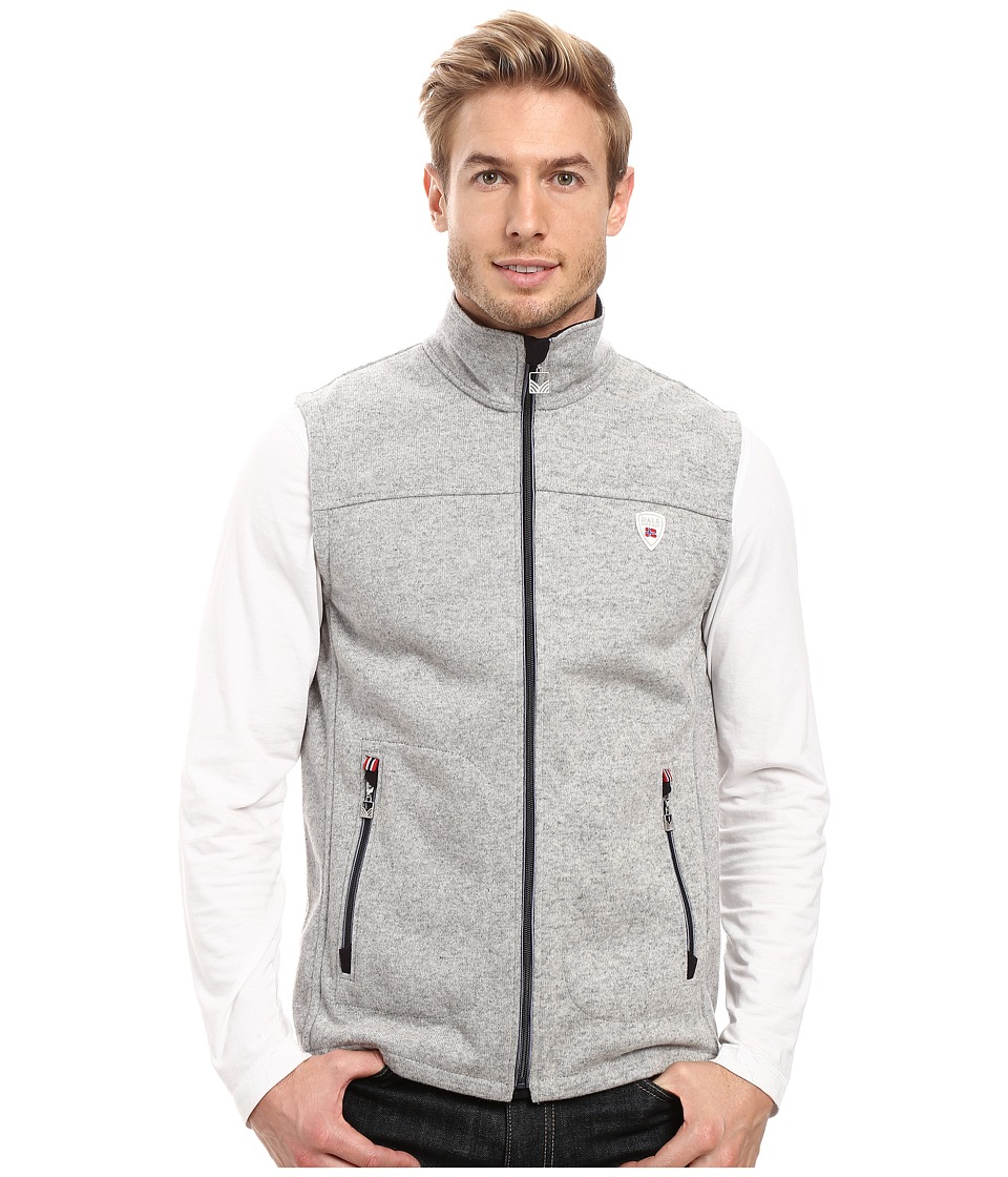 Dale of Norway - Hafjell Vest (Light Grey) Men's Vest