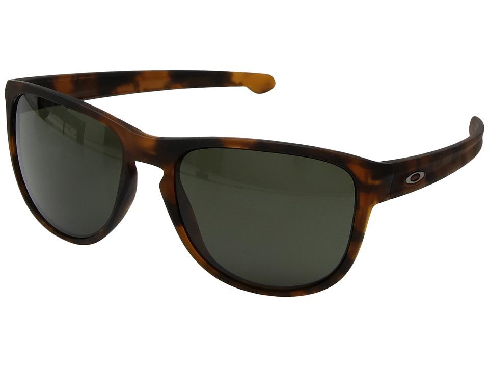 Oakley - Sliver R (Soft Coat Brown Tort w/ Dark Grey) Fashion Sunglasses