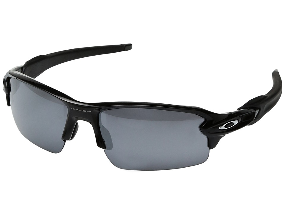 Oakley - Flak 2.0 (Polished Black w/ Black Iridium) Snow Goggles