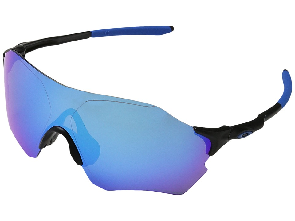 Oakley - Evzero Range (Matte Black w/ Sapphire Iridium Polarized) Fashion Sunglasses
