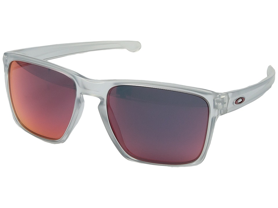 Oakley - Sliver XL (Matte Clear w/ Torch Iridium) Fashion Sunglasses