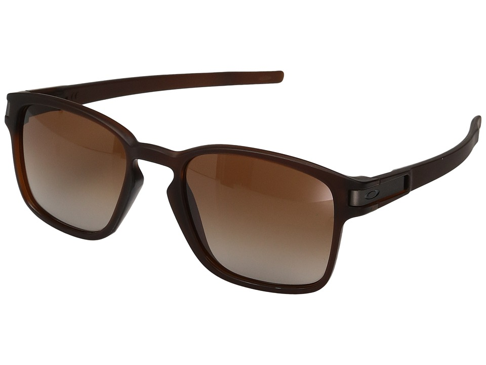Oakley - Latch Squared (Matte Rootbeer w/ Dark Brown Gradient) Fashion Sunglasses
