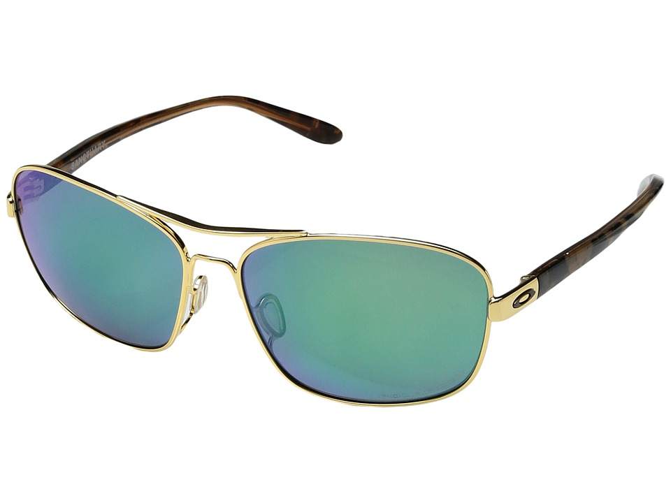 Oakley - Sanctuary (Polished Gold w/ Jade Iridium Polarized) Fashion Sunglasses